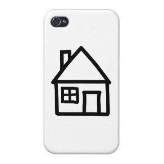 House logo cases for iPhone 4