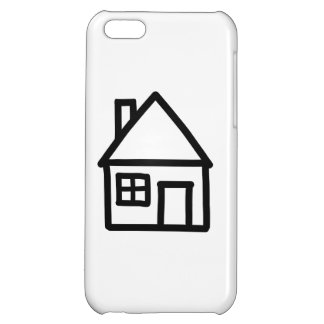 House logo cover for iPhone 5C