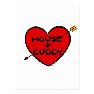 House loves Cuddy Postcard