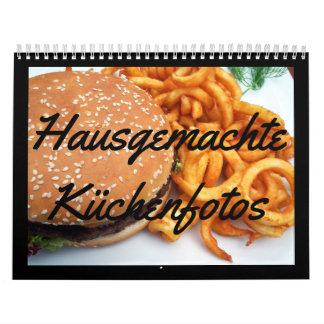 House-made kitchen photos calendar