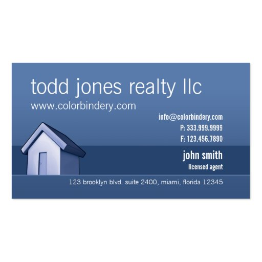 House Market Business Card Pack Of Standard Business Cards ...