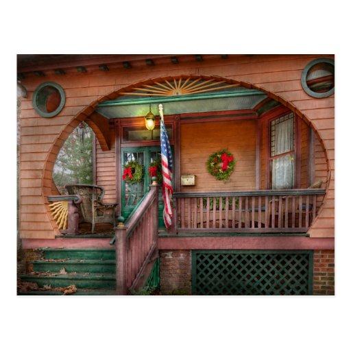 House - Metuchen, NJ - That yule tide spirit Post Cards