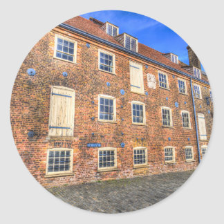 House Mill Bow London Classic Round Sticker