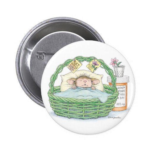 House-Mouse Designs® - 2 Inch Round Button