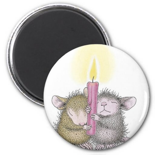 House-Mouse Designs® 2 Inch Round Magnet