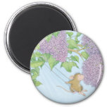 House-Mouse Designs® - 2 Inch Round Magnet