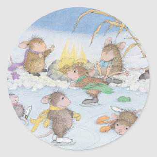 House-Mouse Designs® Classic Round Sticker