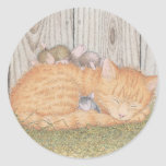 House-Mouse Designs® - Classic Round Sticker