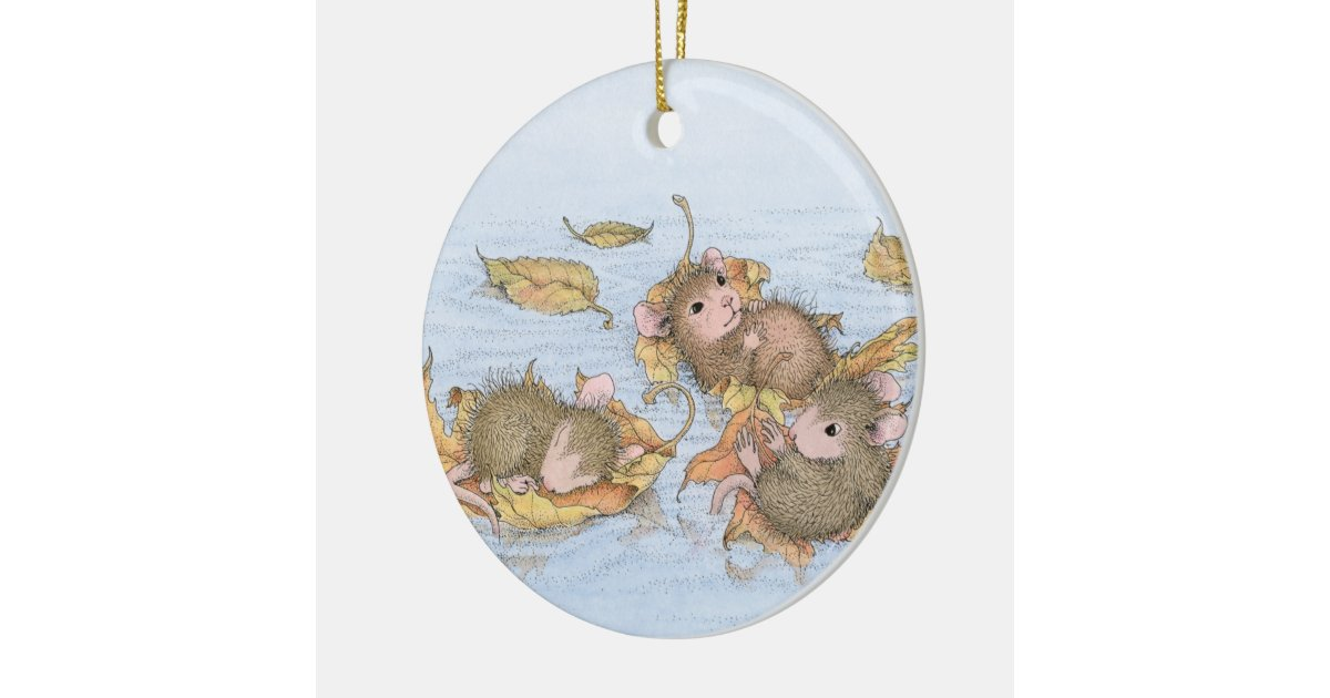 House Mouse Designs Everyday Ornament Zazzle