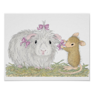 House-Mouse Designs® - Gorgeous Guinea Posters