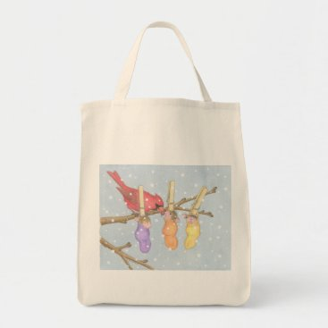 Christmas Themed House-Mouse Designs® - Grocery Bag