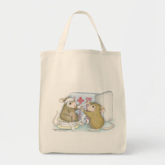 House-Mouse Designs® -  Grocery Tote Tote Bag