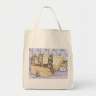 House-Mouse Designs® -  Grocery Tote Tote Bags