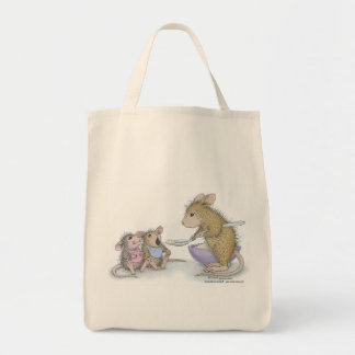 House-Mouse Designs® -  Grocery Tote Grocery Tote Bag