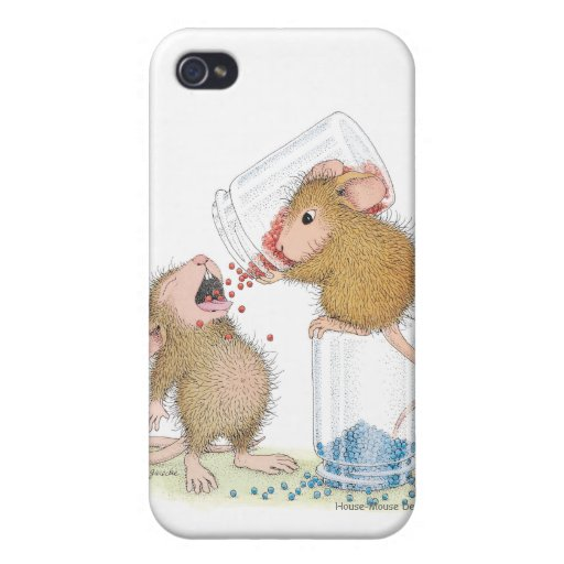 House-Mouse Designs® IPHONE 3G/3GS Case iPhone 4 Case
