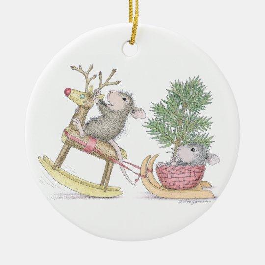 House Mouse Designs Ornament