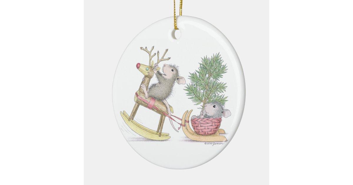 House Mouse Designs Ornament Zazzle