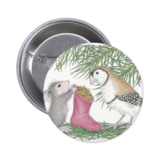 House-Mouse Designs® Pinback Button
