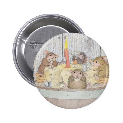 House-Mouse Designs® - Pinback Buttons