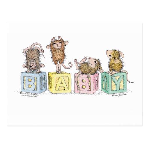 House Mouse Designs Postcard Zazzle