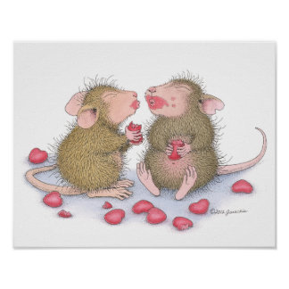 House-Mouse Designs® - Read My Lips Poster