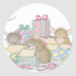 House-Mouse Designs® Round Sticker