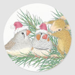 House-Mouse Designs® Round Stickers