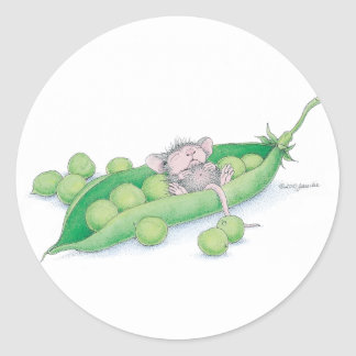 House-Mouse Designs® - Round Sticker