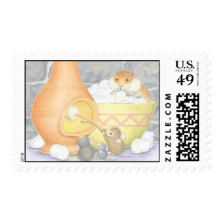 House-Mouse Designs® -  USPS Approved Postage Sello
