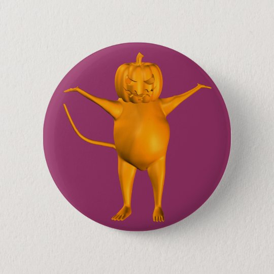 House Mouse Pinback Button