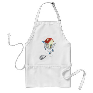 House mouse trolley concept aprons