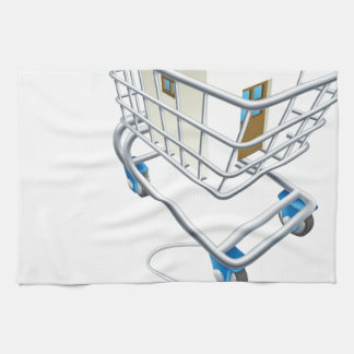 House mouse trolley concept kitchen towels