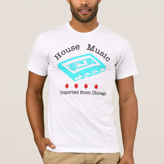 House Music Imported from Chicago men's fitted AA T-Shirt