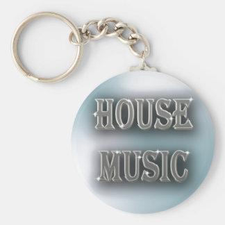 House Music Keychain