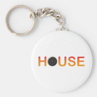 HOUSE Music Key Chain