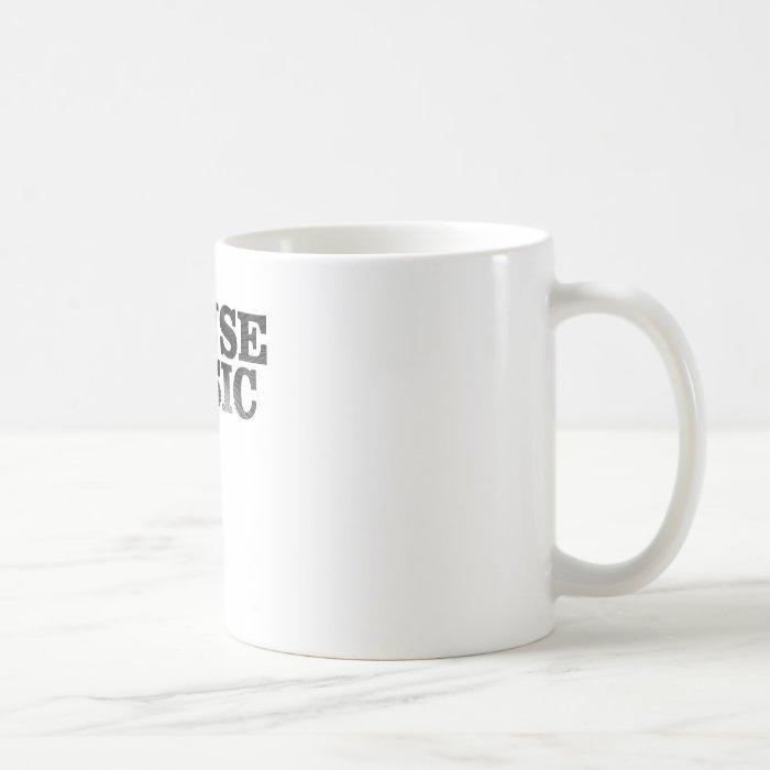 House Music Spiral Text Coffee Mug