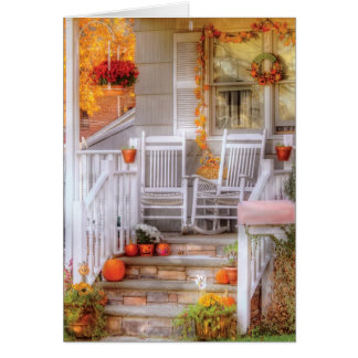 House - My Aunts porch Greeting Card