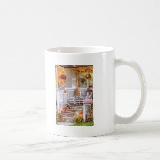 House - My Aunts porch Classic White Coffee Mug