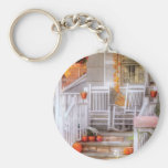 House - My Aunts porch Keychain