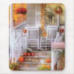 House - My Aunts porch Mouse Pad