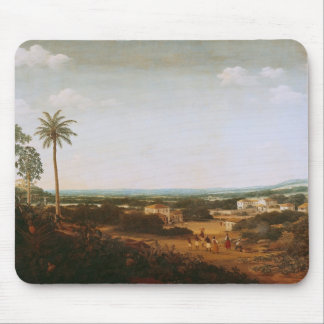 House of a Portuguese Nobleman in Brazil Mouse Pad