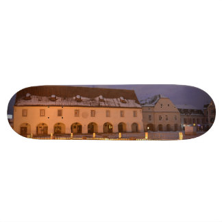 House of Arts at night Skate Boards