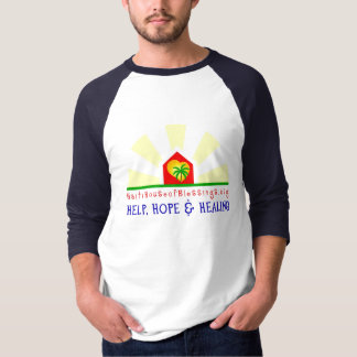 House of Blessings Baseball T-shirt