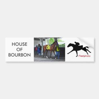 House of Bourbon by Hardspun Bumper Sticker