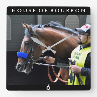 House of Bourbon Square Wall Clock