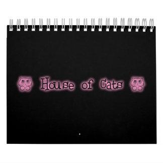 House of Cats Calendar