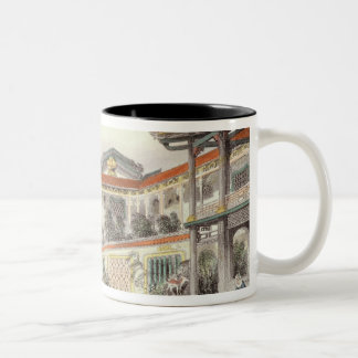 House of Conseequa, a Chinese Merchant, in the Sub Two-Tone Coffee Mug