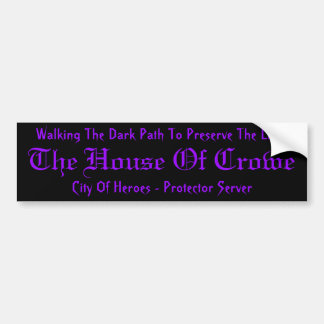 House Of Crowe Sticker