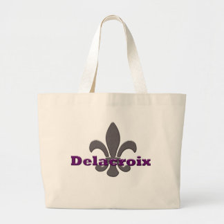 house of delacroix large tote bag