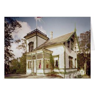 House of Edvard Grieg Card